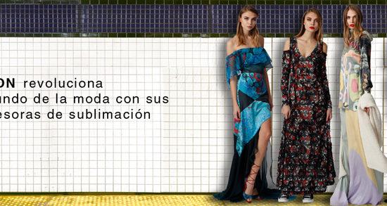 Epson en NY Fasion Week revoluciona la manera de trabajar de los diseñadores de moda