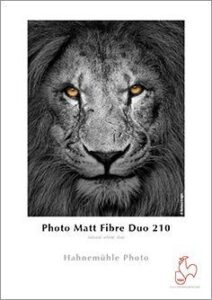 Papel Hahnemuhle Photo Matt Fibre Duo