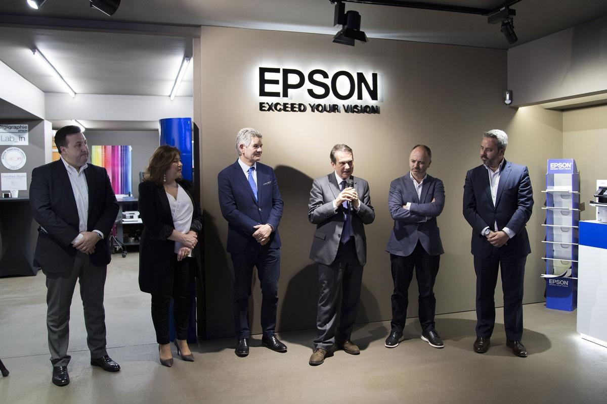 Presentación de Epson Experience Showroom Lab_in by Digipress