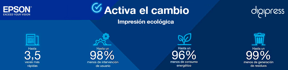 Activa el cambio: impresión ecológica con la gama de impresoras Workforce de Epson