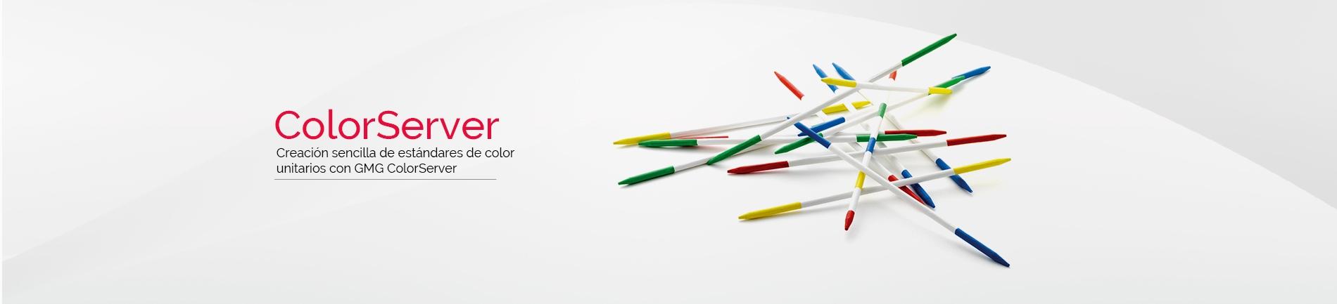 Creación sencilla de estándares de color unitarios con GMG ColorServer