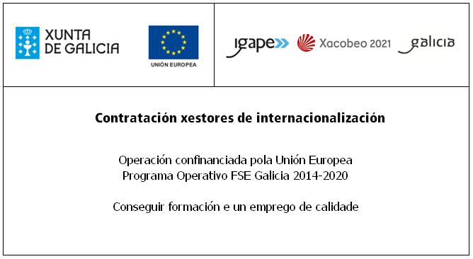Contratación axentes de internacionalización