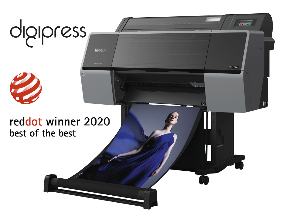 Las impresoras Epson Surecolor P series se hacen por segunda vez consecutiva con los premios Red Dot Award