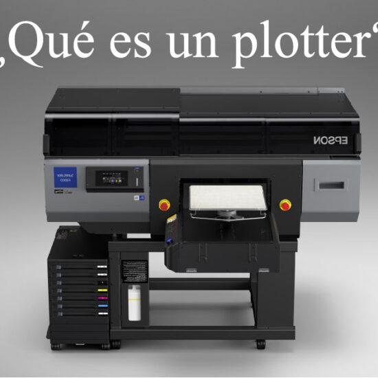 ¿Qué es un plotter?